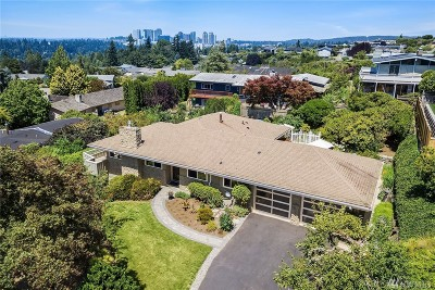 Bellevue Single Family Home For Sale: 12116 SE 22nd St