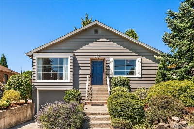 Seattle Single Family Home For Sale: 8227 20th Ave NE