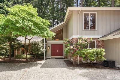 Bellevue WA Single Family Home For Sale: $1,195,000