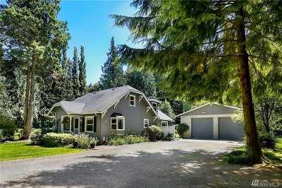 North Bend WA Single Family Home For Sale: $745,000