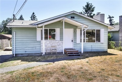 Tacoma Single Family Home For Sale: 8039 S Sheridan Ave