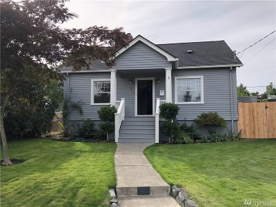 Tacoma Single Family Home For Sale: 1212 S Tyler St