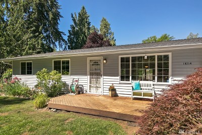Snohomish Single Family Home For Sale: 18214 Butler Rd