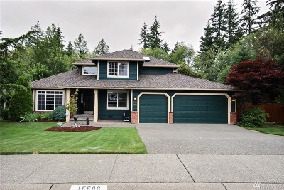 Snohomish Single Family Home For Sale: 15506 59th Dr SE
