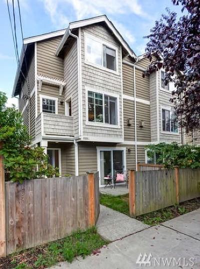 Seattle Single Family Home For Sale: 8508 Nesbit Ave N #C