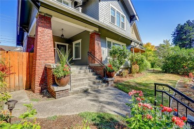 Tacoma Single Family Home For Sale: 1529 N Prospect St