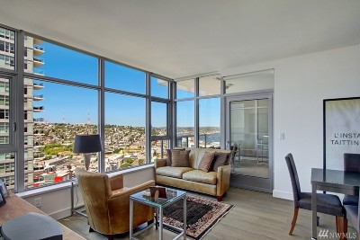 Seattle Condo/Townhouse For Sale: 588 Bell St #2701S