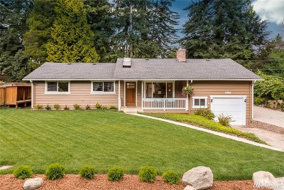 Redmond Single Family Home For Sale: 8337 133rd Ave NE