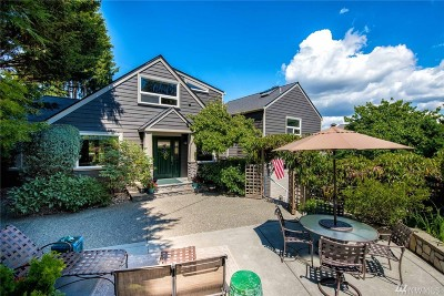 Seattle Single Family Home For Sale: 3760 W Commodore Wy