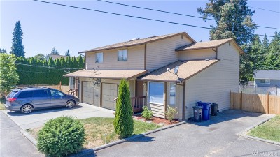 Marysville Multi Family Home For Sale: 5806 74th St NE #1 & 2