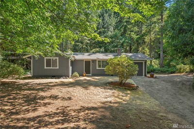 Gig Harbor Single Family Home For Sale: 1620 Crescent Lake Dr NW