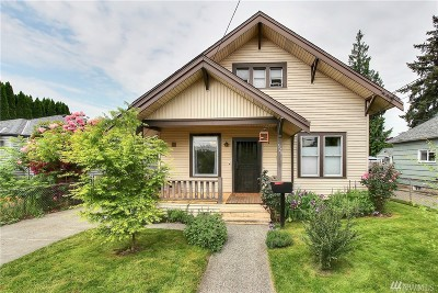 Renton Single Family Home For Sale: 323 Williams Ave N