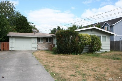 Tacoma Single Family Home For Sale: 7617 S C Street