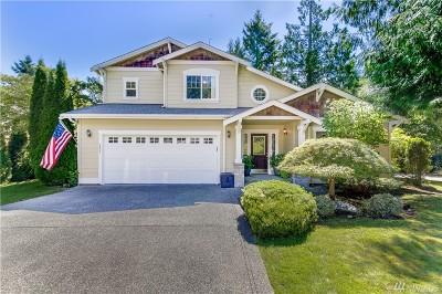 Gig Harbor Single Family Home For Sale: 7601 Beardsley Av Ct NW