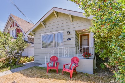 Bremerton Single Family Home For Sale: 1621 Burwell St