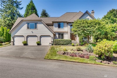 Renton Single Family Home For Sale: 17407 187th Place SE