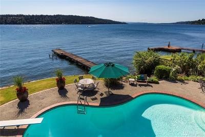 Lake Forest Park Single Family Home For Sale: 16280 Beach Dr NE