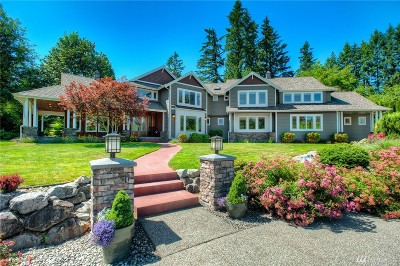 Woodinville Single Family Home For Sale: 16040 NE Woodinville Duvall Rd
