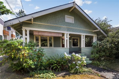 Seattle Single Family Home For Sale: 4313 SW Willow St