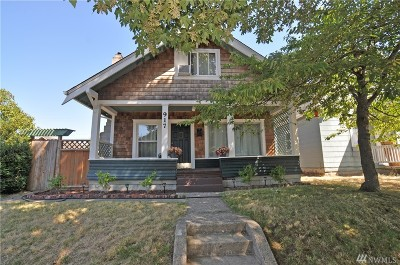 Tacoma Single Family Home For Sale: 917 E Morton St