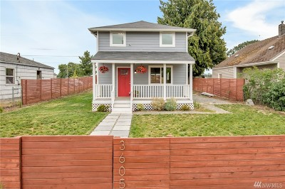 Single Family Home For Sale: 3605 S Madison St