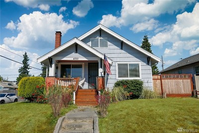 Tacoma Single Family Home For Sale: 4301 Pacific Ave