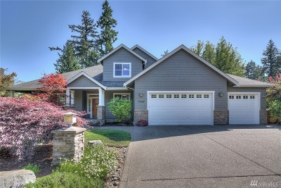 Gig Harbor Single Family Home For Sale: 6408 30th St NW