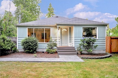 Seattle Single Family Home For Sale: 13758 3rd Ave NW