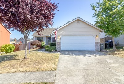 Spanaway Single Family Home For Sale: 1613 197th St Ct E