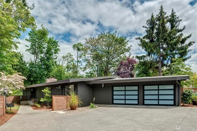 Mercer Island Single Family Home For Sale: 3600 86th Ave SE