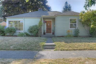 Olympia Single Family Home For Sale: 411 Cushing St SW