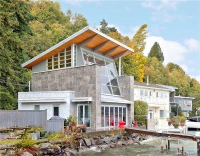 Seattle Single Family Home For Sale: 14360 Edgewater Lane NE