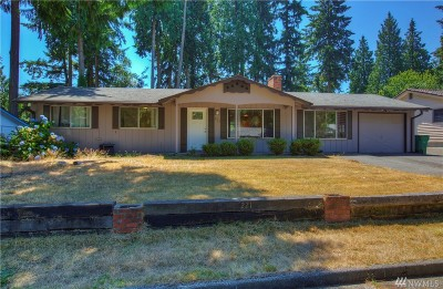 Federal Way Single Family Home For Sale: 221 S 357th St