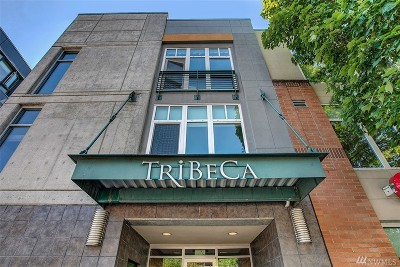 Seattle Condo/Townhouse For Sale: 17 W Mercer St #8