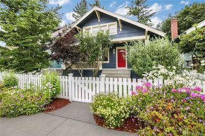Tacoma Single Family Home For Sale: 2206 N Alder St