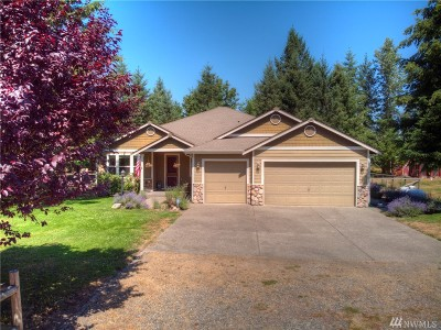 Thurston County Single Family Home For Sale: 15210 Lindsay Rd SE