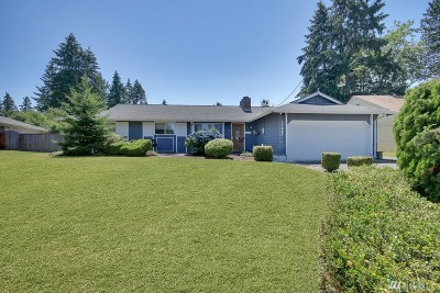 Auburn Single Family Home For Sale: 3360 19th St SE