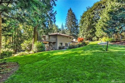 Issaquah Single Family Home For Sale: 14718 245 Ave SE