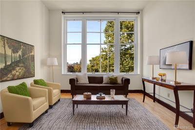 Seattle Condo/Townhouse For Sale: 201 Galer St #412