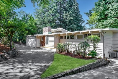 Bellevue Single Family Home For Sale: 3515 120th Ave SE
