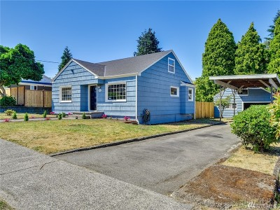 Tacoma Single Family Home For Sale: 207 E 43rd St