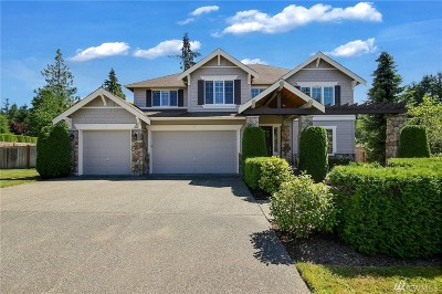 Woodinville Single Family Home For Sale: 13708 233rd St SE