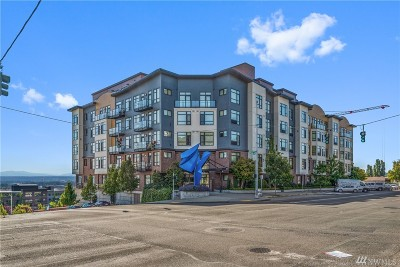 Pierce County Condo/Townhouse For Sale: 1501 Tacoma Ave S #601