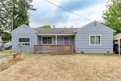 Tacoma Single Family Home For Sale: 954 101st St Ct E