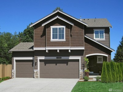 Puyallup Single Family Home For Sale: 10554 191st St E #110
