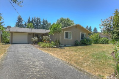 Olympia Single Family Home For Sale: 8317 Daycrest Dr SE