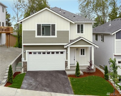 Burien Single Family Home For Sale: 2744 S 120th Place