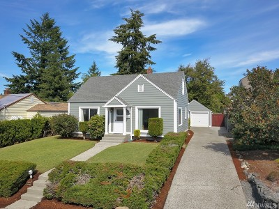 Tacoma Single Family Home For Sale: 1611 S Adams St