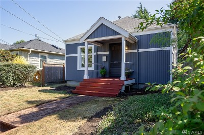 Seattle Single Family Home For Sale: 637 NW 75th St