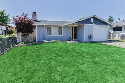 Pierce County Single Family Home For Sale: 7814 S Cushman Ave